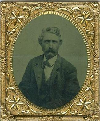 Tintype, Gentleman Sporting Thick Mustache (Image1)