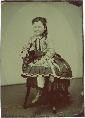 Tintype, Young Girl (Image1)