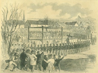 Execution Of Indians At Mankato, Minnesota