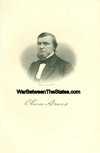 Oliver Ames, Governor Of Massachusetts