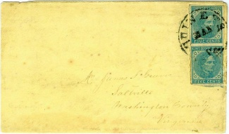 Confederate Cover Addressed to Saltville, Virginia (Image1)