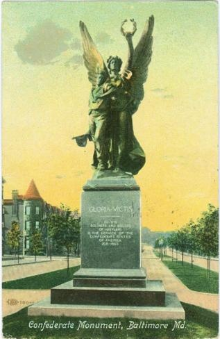 Confederate Monument, Baltimore, Maryland (Image1)