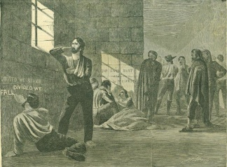 The Union Prisoners at Richmond, Virginia (Image1)