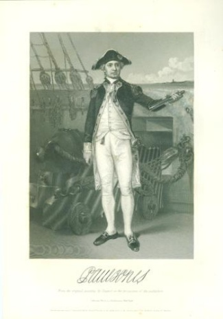 Engraving, Captain John Paul Jones