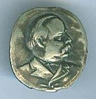 Grover Cleveland Lapel Stud