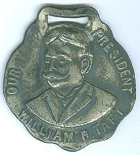 William H. Taft Presidential Medallion