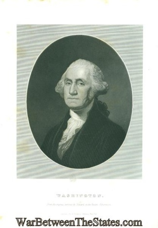 Engraving, George Washington