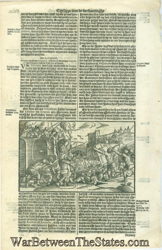 1601 Leaf From The History of the Jews by Josephus (Image1)
