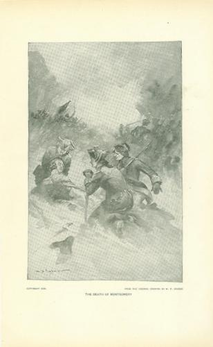 Print, The Death Of General Richard Montgomery