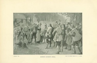 Print, Governor Philip Carteret's Arrival