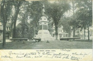 Soldiers Monument on The Green, Derby, Connecticut (Image1)
