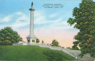 Wisconsin Memorial, Vicksburg National Military Park (Image1)