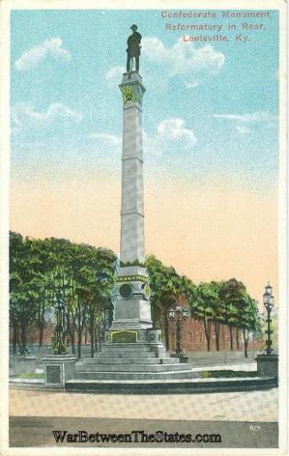Confederate Monument, Louisville, Kentucky (Image1)