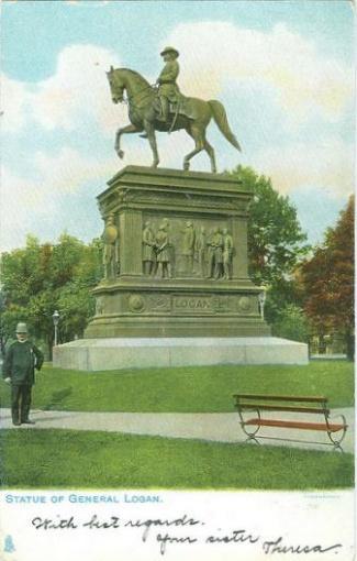 Statue of General John A. Logan (Image1)