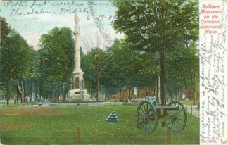 Soldiers Monument on the Common, Lawrence, Massachusetts (Image1)