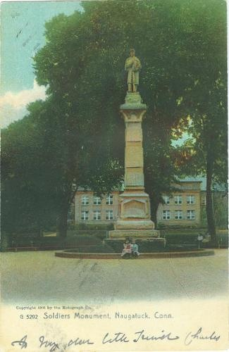Soldiers Monument, Naugatuck, Connecticut