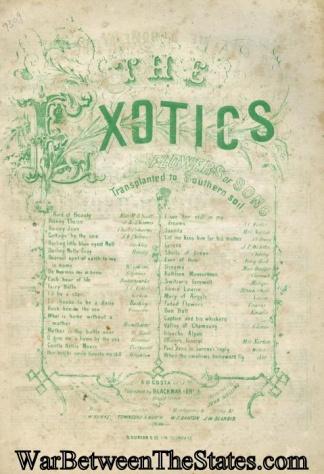 Confederate Imprint, The Exotics, (Image1)