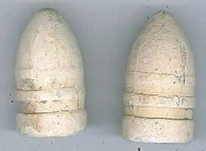 Pair of Sharps Carbine Bullets, Brandy Station, Virginia (Image1)