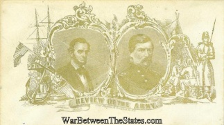 Patriotic Cover, President Lincoln And General Mcclellan