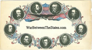 Patriotic Cover, President Lincoln And His Cabinet