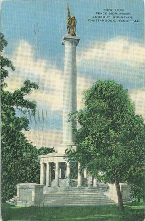 New York Peace Monument, Lookout Mountain, Chattanooga, Tenn. (Image1)