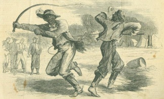 The Duel Of The Negro Teamsters