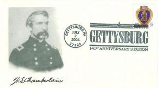 Gettysburg 141st Anniversary Cover, Colonel Joshua L. Chamberlain (Image1)