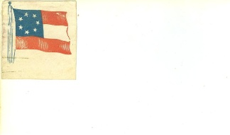 The Stars and Bars, Confederate First National Flag (Image1)