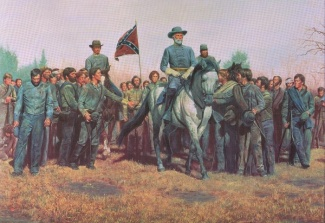 General Robert E. Lee at Appomattox (Image1)
