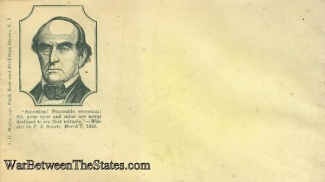Patriotic Cover, Daniel Webster (Image1)