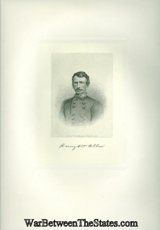 Confederate General Henry W. Allen