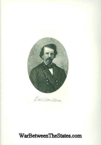 Confederate General Earl Van Dorn