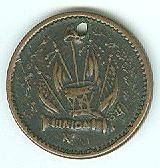 Civil War Patriotic Token, Army & Navy