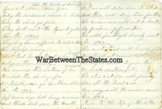 1863 Manuscript Regarding the Emancipation of the Slaves (Image1)