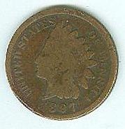 1897 One Cent Piece (Image1)