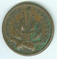 Civil War Patriotic Token, Our Country