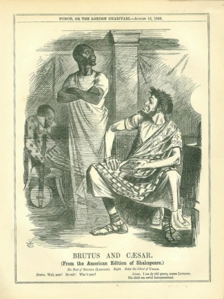 Brutus And Caesar, From The American Edition Of Shakspeare