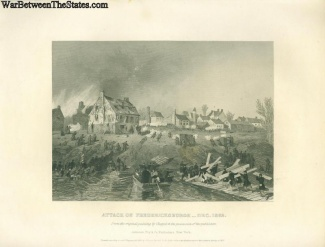 The Attack On Fredericksburg, Virginia