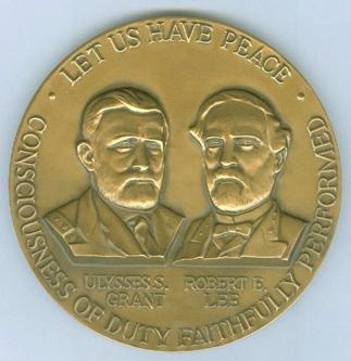 Official Civil War Centennial Commission Medallion