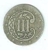 United States 3 Cents Piece (Image1)