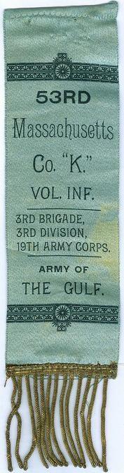 53rd Massachusetts Infantry Ribbon (Image1)
