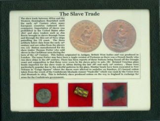 The Slave Trade Display