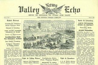 Valley Echo News, Hagerstown, Maryland (Image1)