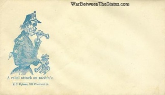 Patriotic Cover, A Rebel Attack on Pickin's (Image1)