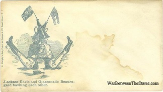 Patriotic Cover, Jackass Davis and Gasconade Beauregard (Image1)