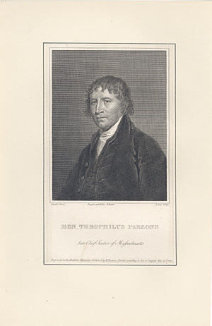 Massachusetts Chief Justice Theophilus Parsons