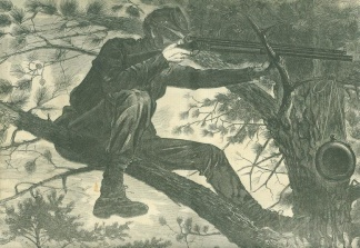 A Sharpshooter On Picket Duty, 1862