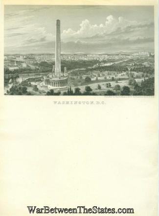City of Washington, D.C. Illustrated Letter Sheet (Image1)