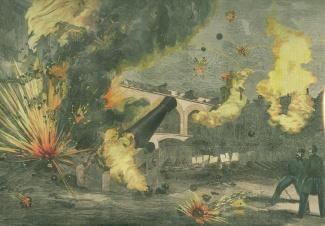 The Bombardment of Fort Sumter, South Carolina April 1861 (Image1)