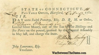 The Continental Connecticut Quartermaster Receives Funds (Image1)